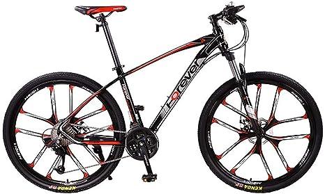 LIUJIE Plegable Bicicleta de montaña Dual suspensión Bicicleta ...