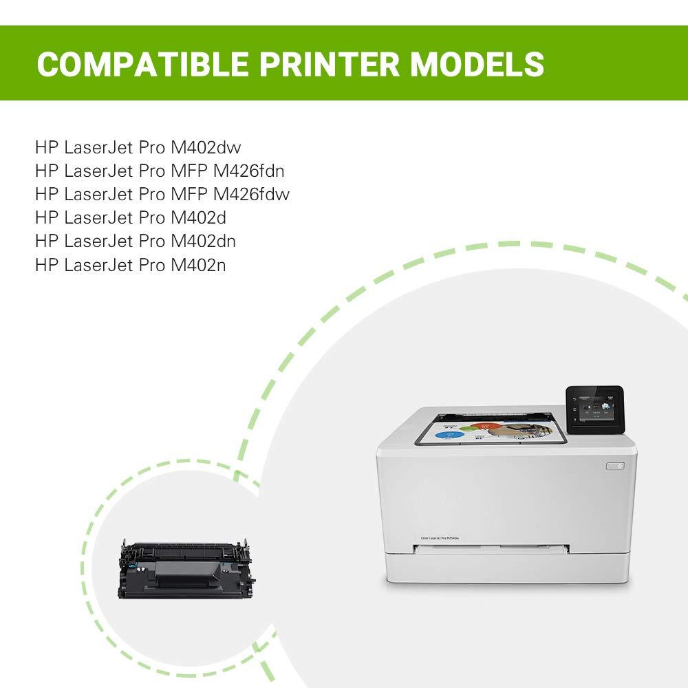 Aztech 4 paquetes de tóner XXL compatible para HP201X HP 201X ...