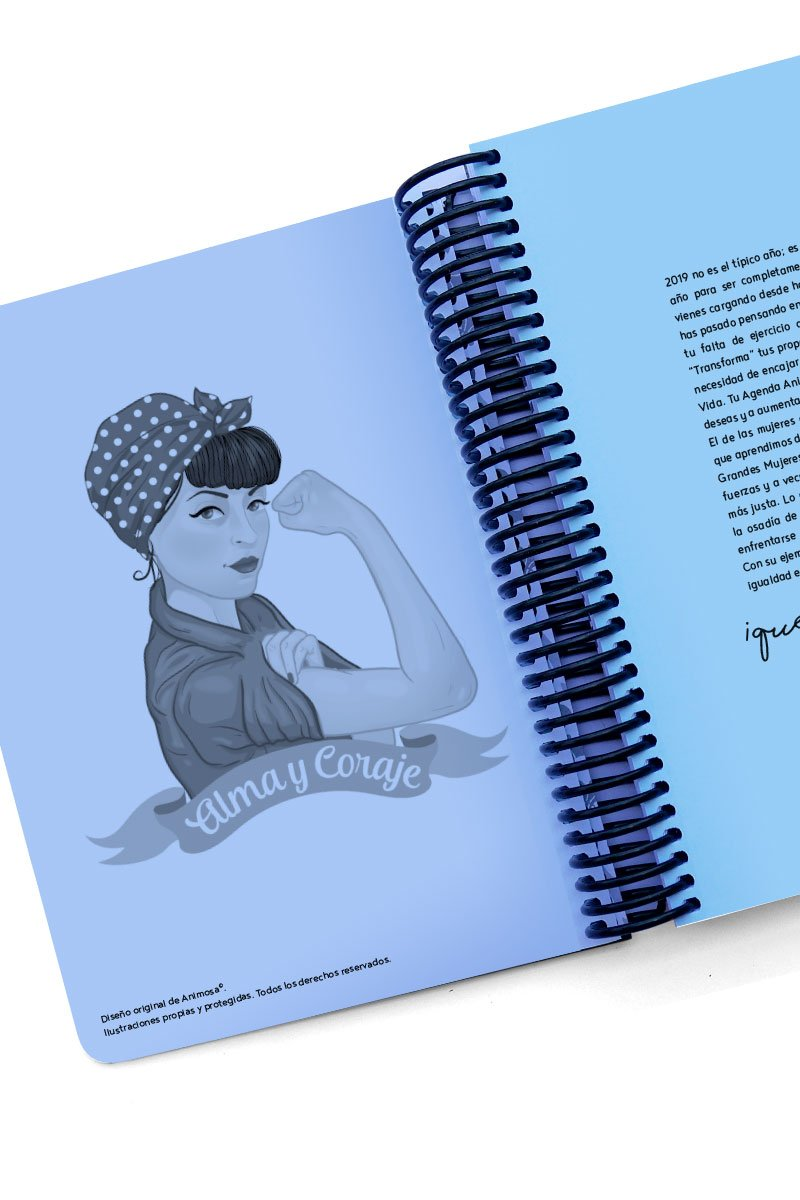 Agenda 2019 Audrey Hepburn Diamantes