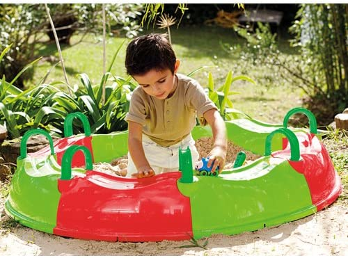 itsImagical - Green Forest Sandpit, arenero y Piscina Hinchable ...