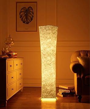 LIGHT BYJUM Floor Lamp 132CM Tall Fabric Lámparas de pie ...
