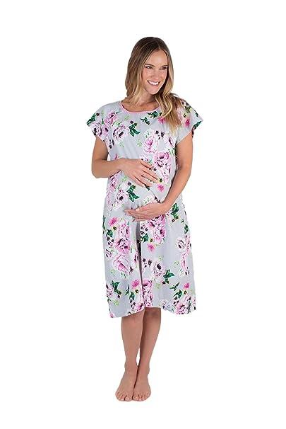 Baby Be Mine Gownies - Bañador de maternidad para el hospital Maternity, bolsa de hospital, el mejor regalo para baby shower: Amazon.es: Ropa y accesorios