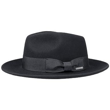 916186737b9db3 Stetson Tarveston Fedora Hat with Cashmere Men | at Amazon Men's ...