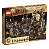 LEGO The Hobbit An Unexpected Journey - The Goblin King Battle 79010 (841 Pieces)