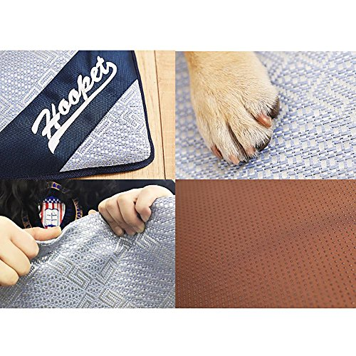 Aolvo Cooling Pad/Mat/Bed for Dogs & Cats, Extra Large - Non Toxic, Non Sticking, Skin-Friendly, Keep Pets Cool, Prevent Overheating & Dehydration - Comfortable Cool Stuff for Pet (19'' X 15'') by Aolvo (Image #7)