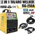 TOSENBA TIG Welder Tig/Arc/Stick Tig Welding Machine 250Amp 220V DC Inverter IGBT MMA Digital Display