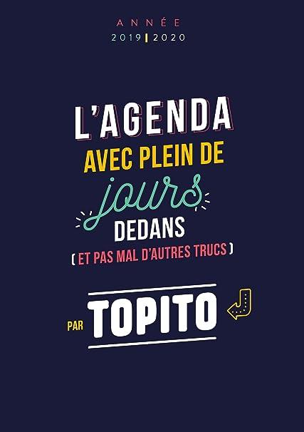 Agenda TOPITO (Calendrier - Vie quotidienne): Topito: Amazon.es ...