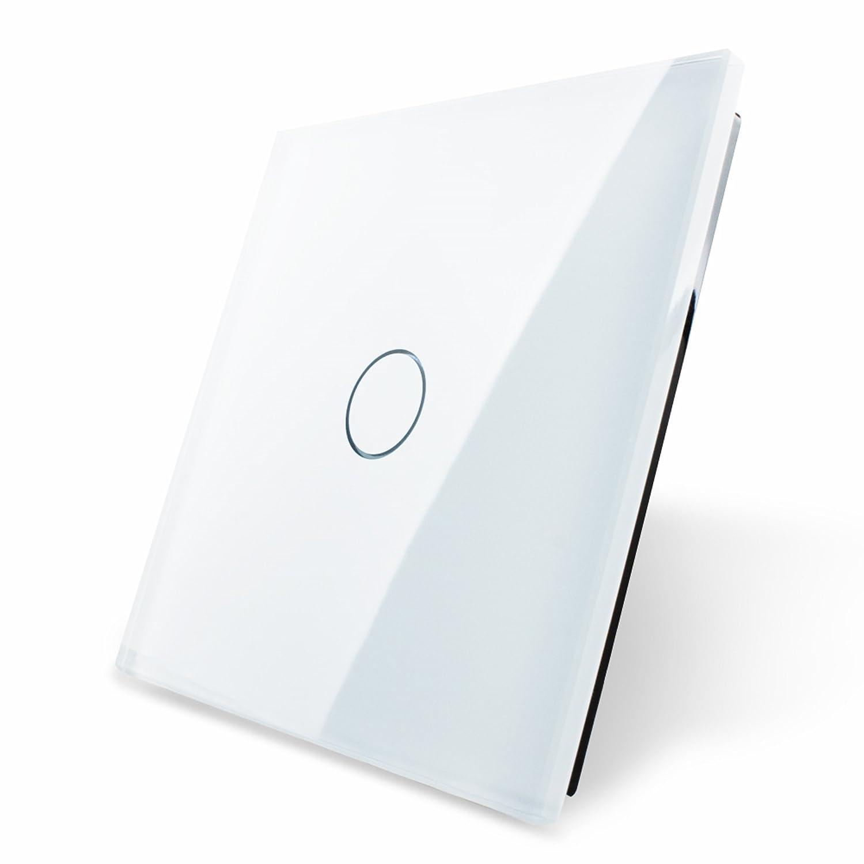 Touchpanel OHNE Schalter aus Sicherheitsglas, vorbereitet für einen ...