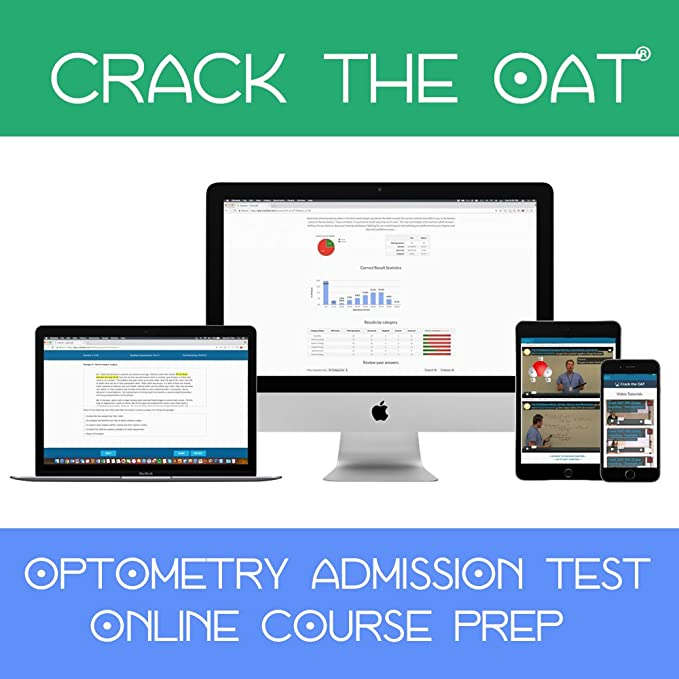 Crack the OAT - Simulate the Optometry Admission Test (2019-2020 Hero Prep  Pack)
