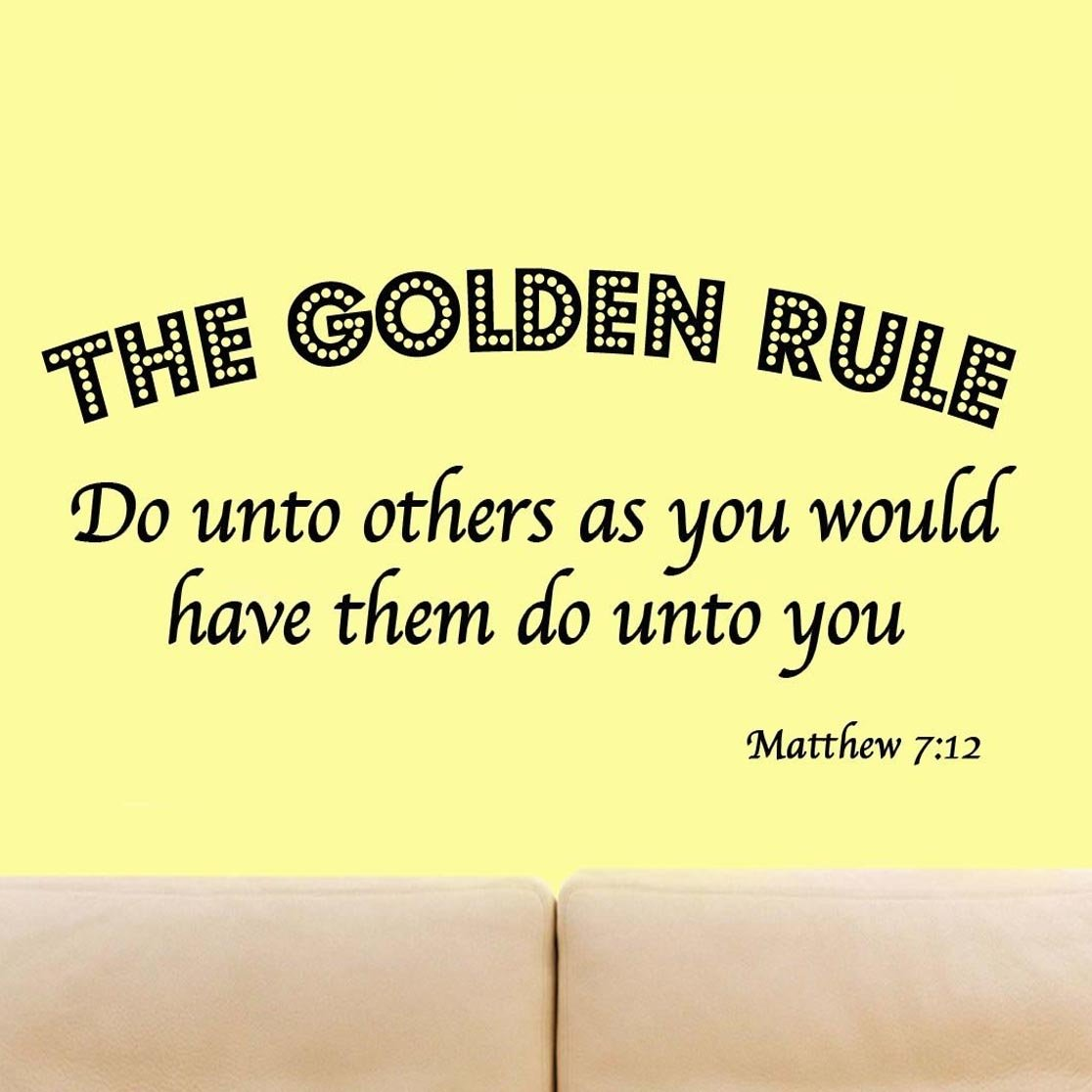 Amazon.com: The Golden Rule - Do Unto Others as You Would Have Them ...