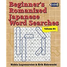 Beginner's Romanized Japanese Word Searches - Volume 2