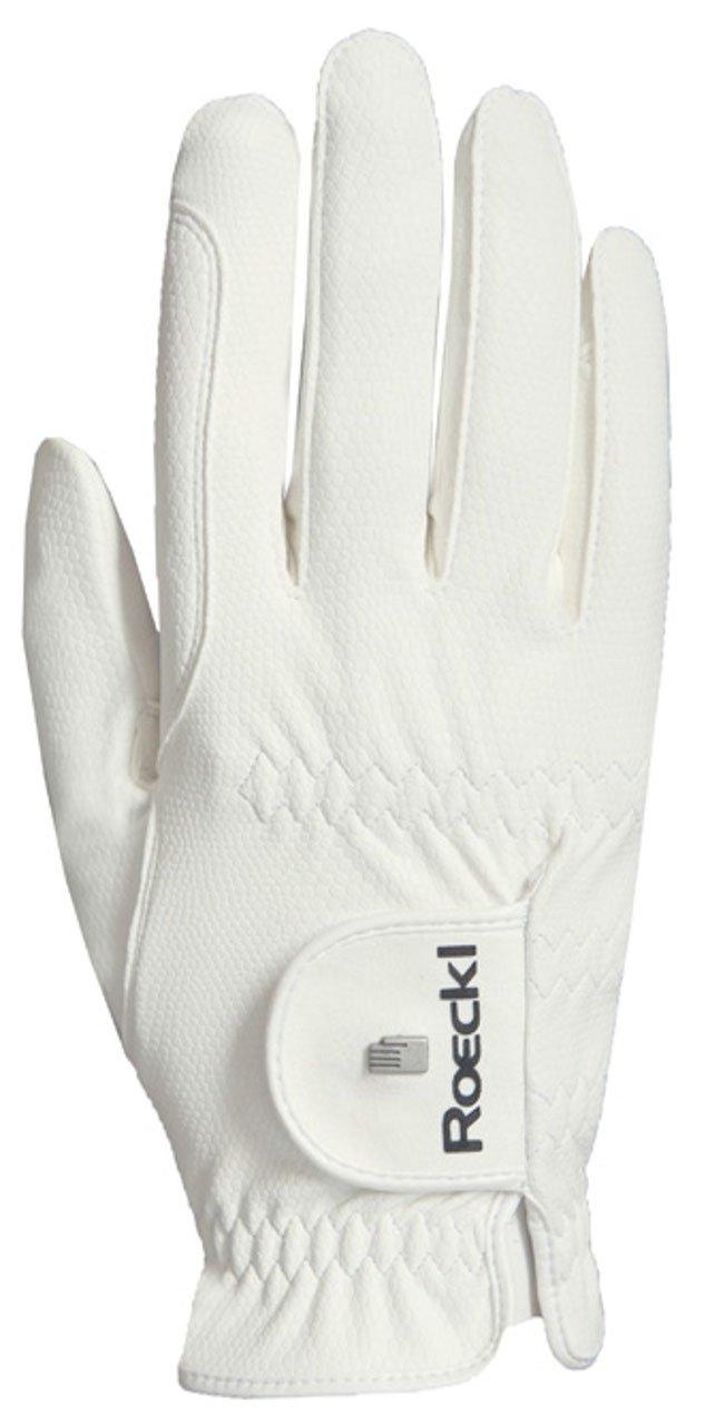 Roeckl ライディンググローブ ROECK Grip PRO 6.5 ホワイト B07561F418