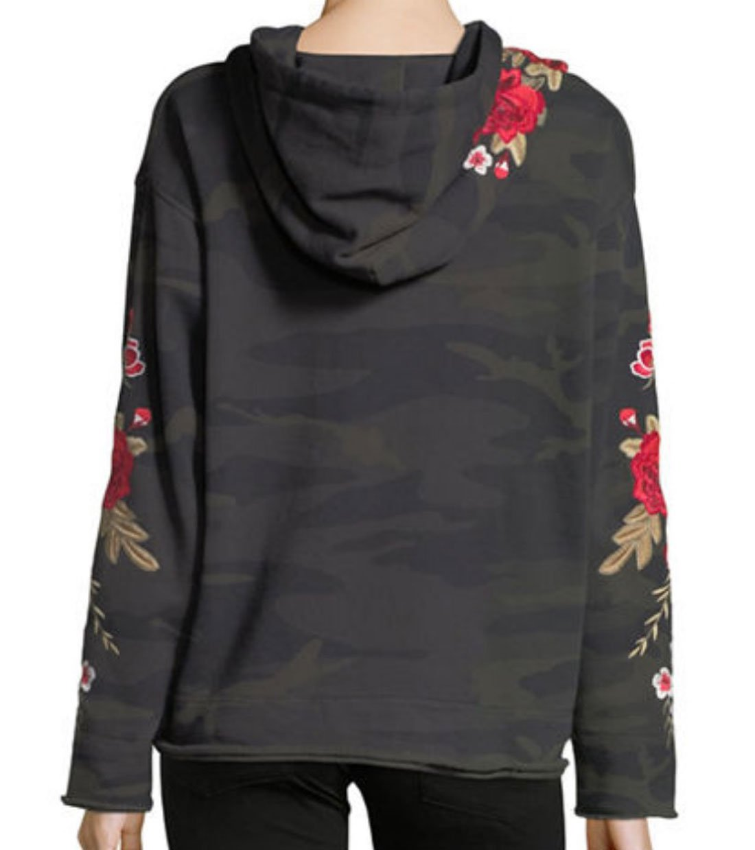 Johnny Was Women's Forrest Camo Meri Pull On Hoodie by Johnny Was (Image #2)