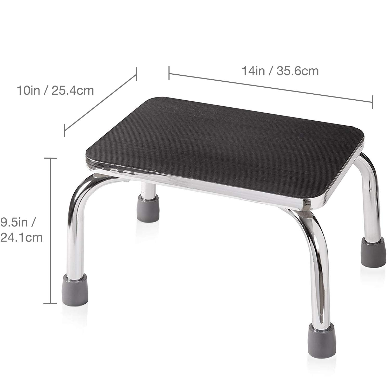 Fine Dmi Step Stool For Adults And Seniors Heavy Duty Metal Stepping Stool For High Beds Portable Foot Step Stool For Elderly 250 Lb Weight Capacity Ibusinesslaw Wood Chair Design Ideas Ibusinesslaworg