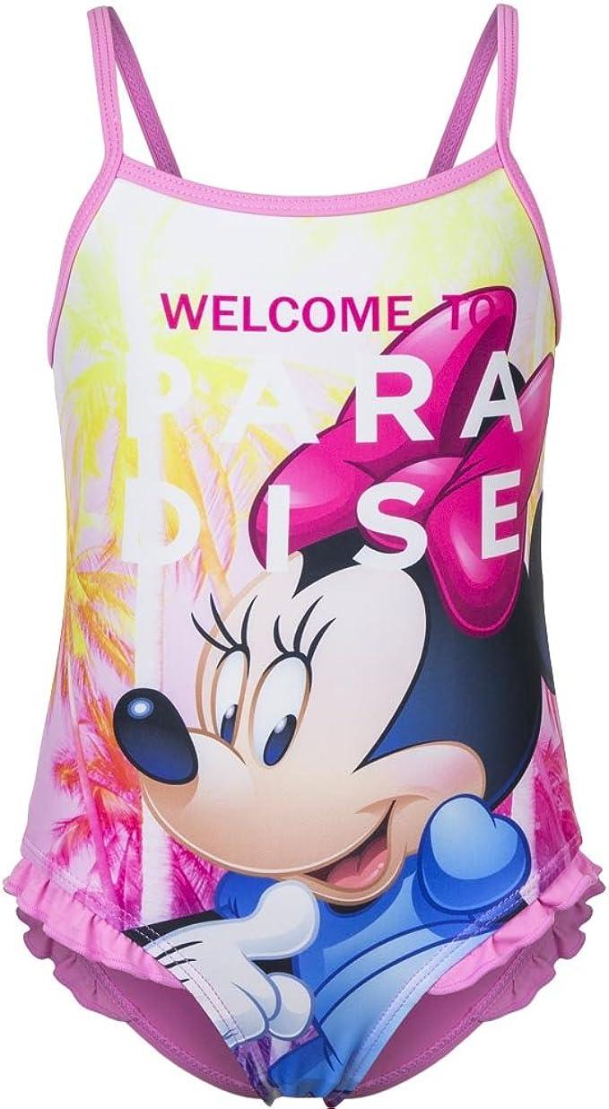 98 104 116 128 Disney Minnie Mouse Maus Mädchen Badeanzug Gr