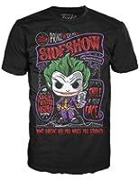 Funko Batman Arkham Asylum The Joker Sideshow Tee Shirt (Adult Small)