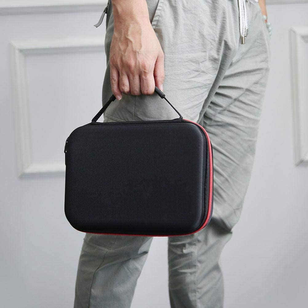 Drone Parts Carrying Case,Two-Way Zipper Storage Bag,Retro Handbag Box for DJI Mavic Mini