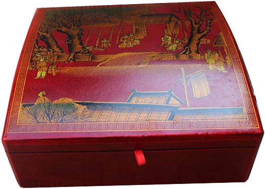 irugh Joyero, Caja de Madera Antigua colección colección Caja de ...