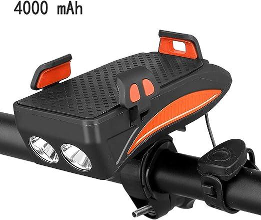 ZChun - Soporte de luz para Bicicleta para móvil, luz Frontal para ...