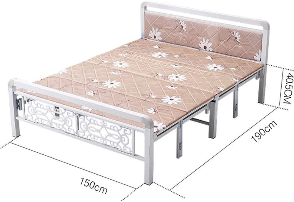 Xiao Long Cama Plegable Doble con Refuerzo de colchón ...