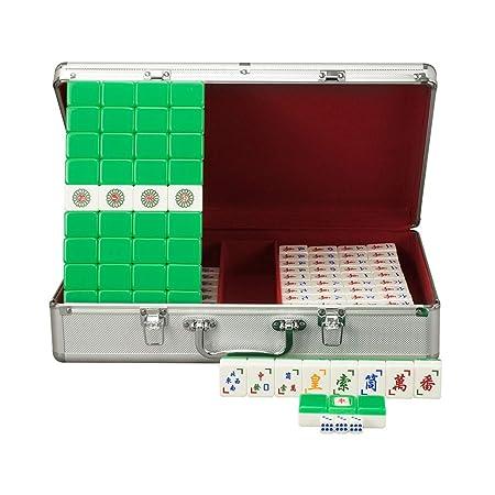 Juegos de Mesa Vietnam Mahjong Hand Rub Mahjong Hogar Cristal ...