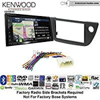 Volunteer Audio Kenwood Excelon DNX694S Double Din Radio Install Kit with GPS Navigation System Android Auto Apple CarPlay Fits 2002-2006 Acura RSX