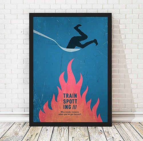 Amazon Com Trainspotting Minimalist Movie Poster Vintage Poster