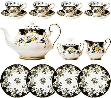 100 Years of Royal Albert - 1910 Duchess 15 Piece Tea Set  sc 1 st  Amazon.com & Amazon.com | 100 Years of Royal Albert - 1910 Duchess 15 Piece Tea ...