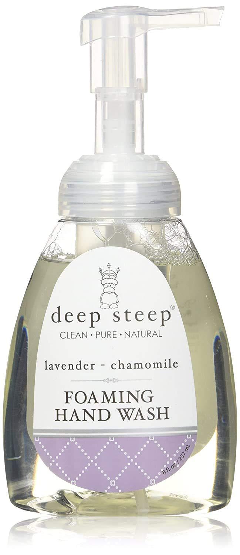Deep Steep Foaming Handwash, Lavender Chamomile, 8 Ounces