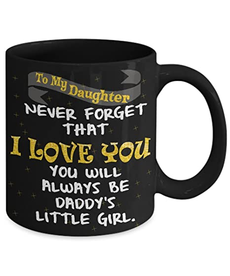 Amazon MUG QUOTE TO MY DAUGHTER Uncommon Unique Birthday