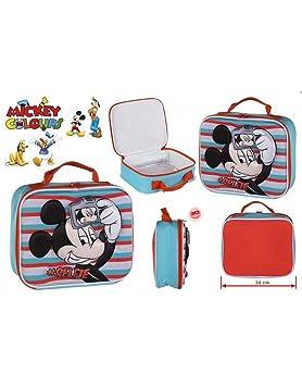 MICKEY Bolsa de merienda termica de Mickey Mouse
