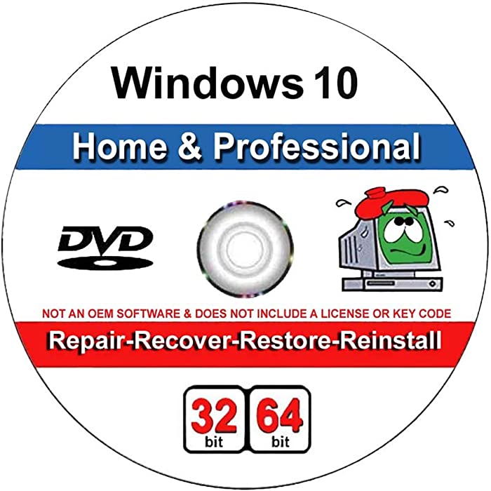 Top 10 Windows 10 Home 64 Bit Recovery Disk