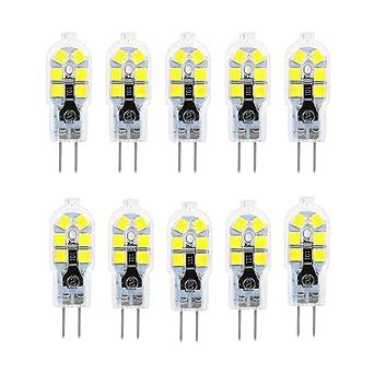 G4 Bombilla LED, 2W, 200LM, Equivalente a 20W Bombillas Halógenas, Blanco Frío