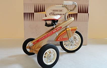 Rare 1996 Hallmark KIDDIE CAR Classics 1960 Murray Blaz o Jet TRICYCLE Bike Numbreed Garton Excellent Condition Car Collectible Toy Mint