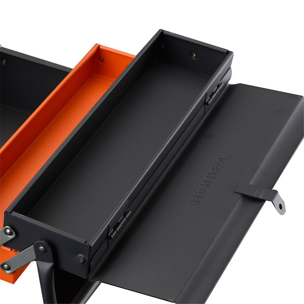 Lightdot Hardware Portable Cantilever Toolbox, 5 Drawers Metal Tools Box by HAR-DEN (Image #4)