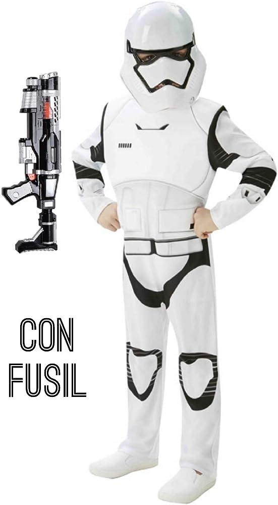 Disfraz de Stormtrooper deluxe con fusil - Niño, de 11 a 12 años ...