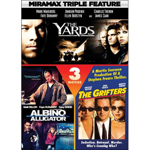 Miramax Triple Feature Crime: The Yards / Albino Alligator / The Grifters Alligator Enterprise Stars