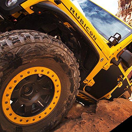 Smittybilt 76994 Black Mag-Armor Magnetic Trail Skin by Smittybilt (Image #1)