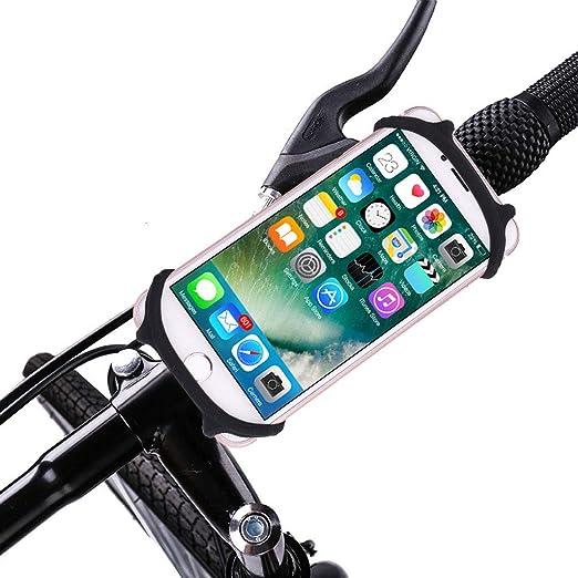 AdTim Soporte Universal para teléfono Celular, Bicicleta Soporte ...