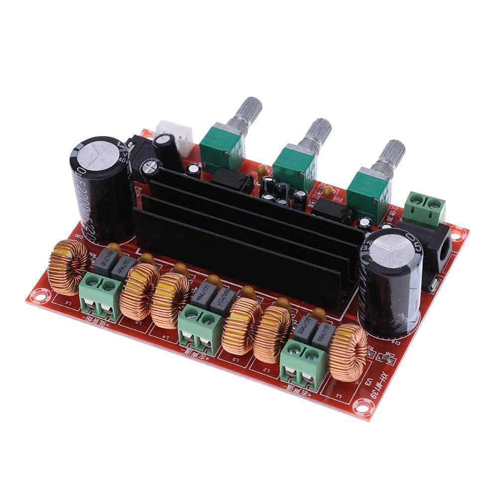 Aideepen Tpa3116d2 50wx2 100w 21 Channel Digital Amplifier Pcb Board Hi Fi Car Audio Power Diy Subwoofer Home Theater