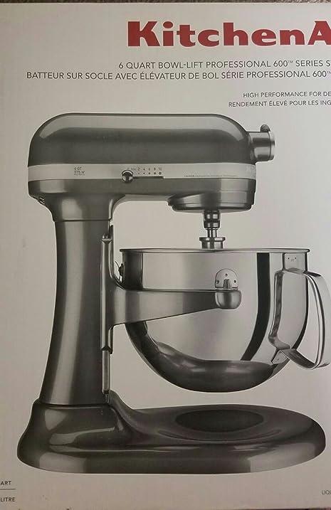 Kitchenaid Professional 600 Series 6 Quart Stand Mixer KP26M1XQG5