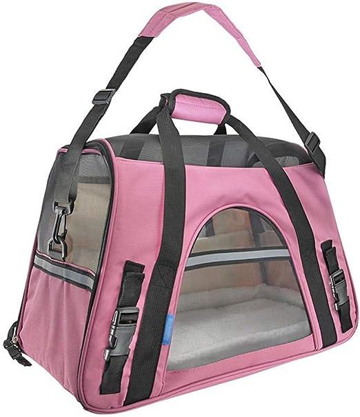 Lllffflll Portador for gatos, bolsa de viaje for mascotas, portador portátil for mascotas, mochila for perros Juguete for Soporte para mascotas Canasta for gatos Portadores for perros for perros media: Amazon.es: Hogar