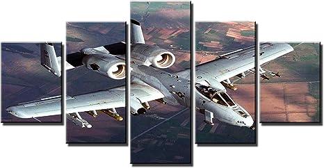 Military Air Plane Fighter Jet F22 Raptor Usaf 12X16 Inch Framed Art Print