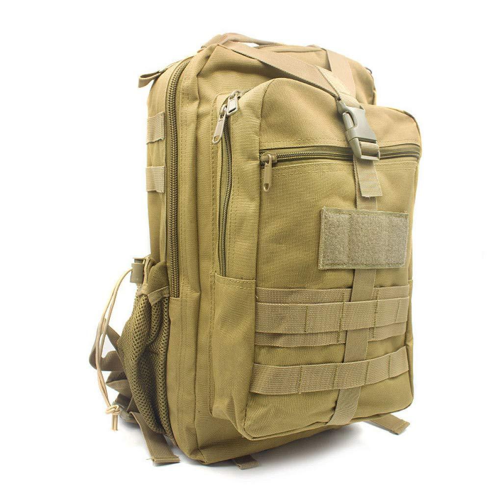 Khaki  YUANYU Sac à Dos Militaire Sac à Dos étanche armée Sac à Dos Sports de Plein air Voyage Camping Sac de randonnée