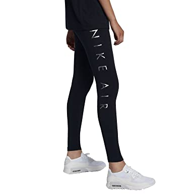 Nike Damen Sportswear Air Legging Leggings Hose Sporthose S: Amazon ...