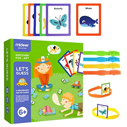 Amazon Com Luerme Cognitive Card Board Game You Draw Me Guess