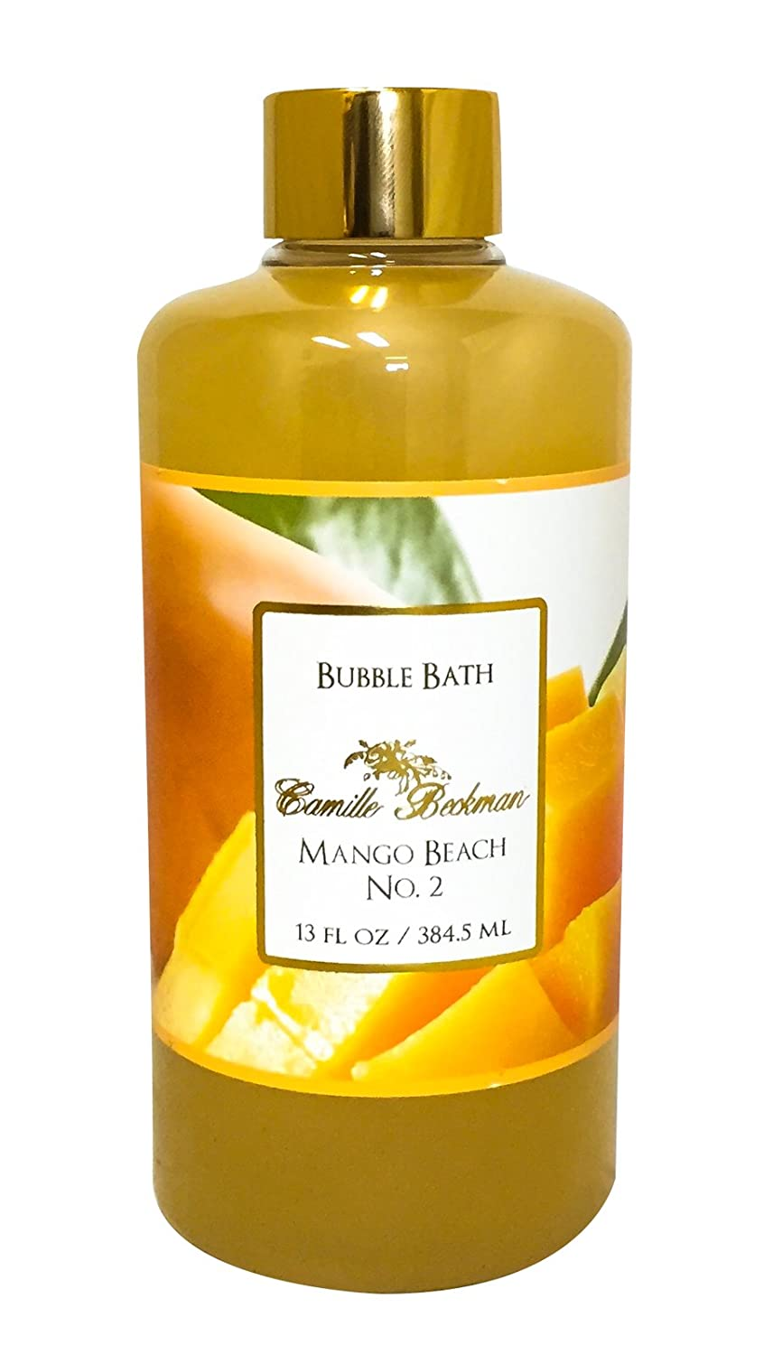 Camille Beckman Bubble Bath, Glycerine Rosewater, 13 Ounce