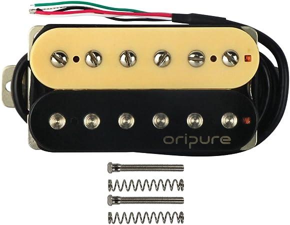 Rot Ein Paar Tonabnehmer Kupferbasis für E-Gitarren Teile Zubehör