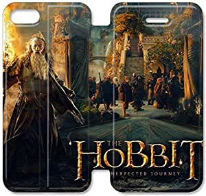 Hobbit Cine P1D76B2 iPhone 5 5S 5SE caso funda de cuero del tirón F3U71G1 personalizados funda de cuero única caja del teléfono
