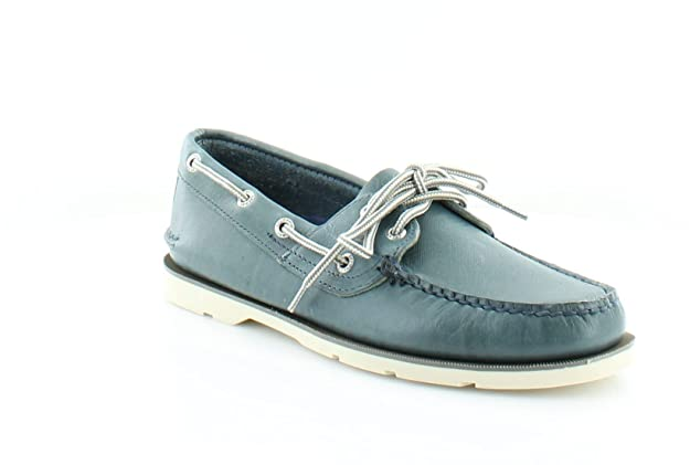 Sperry Top-Sider Uomo Leeward Chambray Boat Shoe, Blu